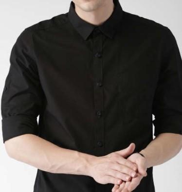 11517995810352-Highlander-Black-Slim-Fit-Casual-Shirt-1061517995810069-1